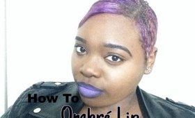 How to : Purple Ombre Lip w/ 3 other color combos