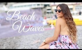 Heatless Beach Waves Hair Tutorial | Luxy Hair