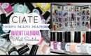 Ciate Mini Mani Manor Advent Calendar and Nail Swatches