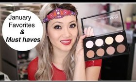 January Favorites & Must Haves- Beenigma, NYX Contour Palette, Glammitt, and more