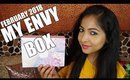 MY ENVY BOX February 2018   Unboxing & Review   Stacey Castanha