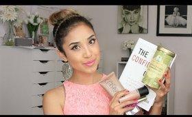 April Favorites- Makeup, Tea, & Books