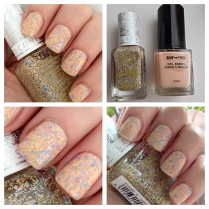 Barry m dly mixture layered over a nude