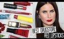 THE BEST DRUGSTORE FESTIVE RED LIPSTICKS! - TOP 10! | VLOGMAS #1
