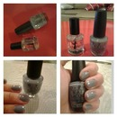 OPI I don't give a rotterdam and Seche vite topcoat