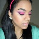 Electric Pink eye