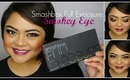 Smokey Chocolate Brown Eye & Berry Lip Tutorial // Smashbox Full Exposure Palette // villabeauTIFFul