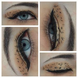 Official leopard makeup look