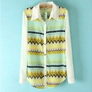 Cute Vintage Chiffon Shirt