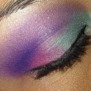 Blue and Purple Look