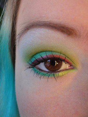 Red and Green Holiday Look