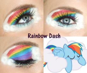 Rainbow Dash Inspired Look!