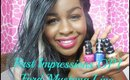 First Impression OPI Ford Mustang Line