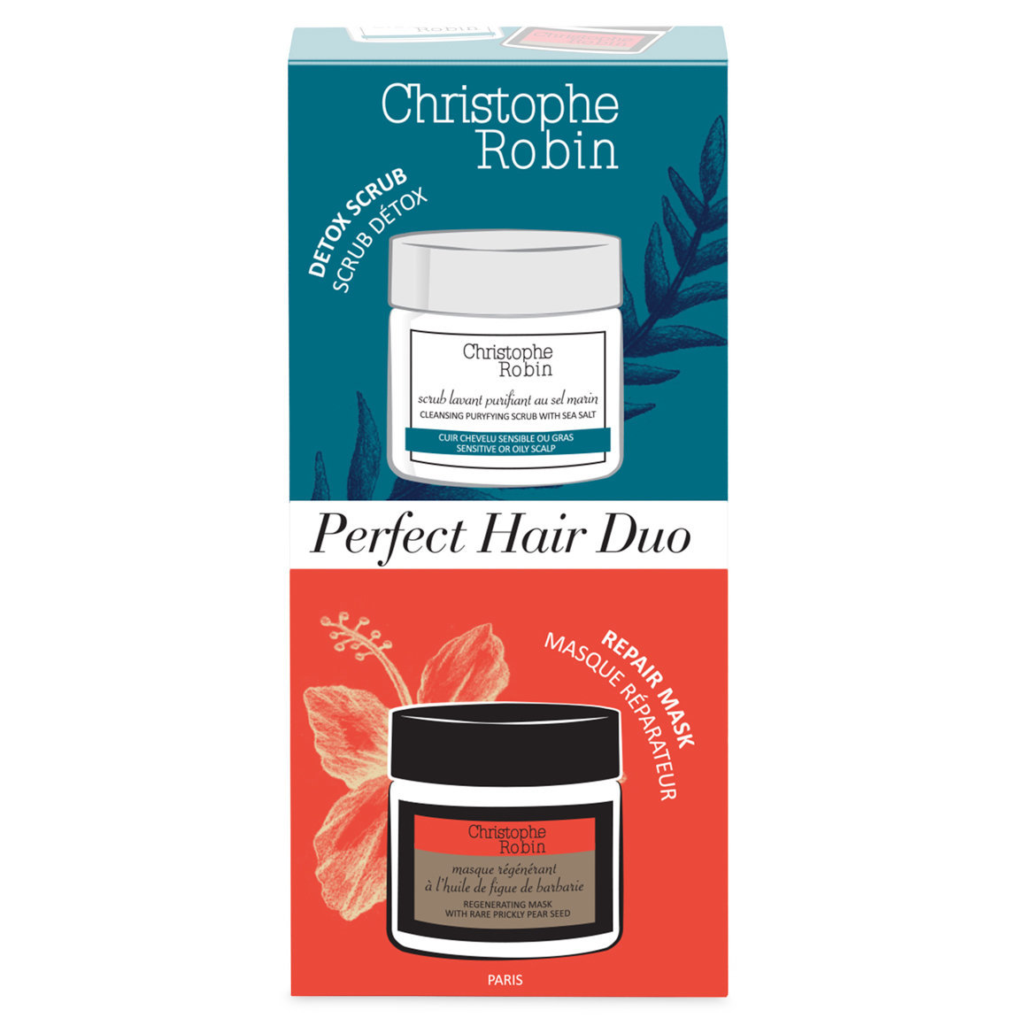 Christophe Robin Perfect Hair Duo alternative view 1 - product swatch.