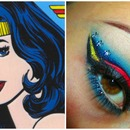 Wonder Woman Inspired Make-up
