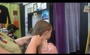 1033 Main Salon & Spa: Quick & Easy Hairline Braid Into Side Ponytail