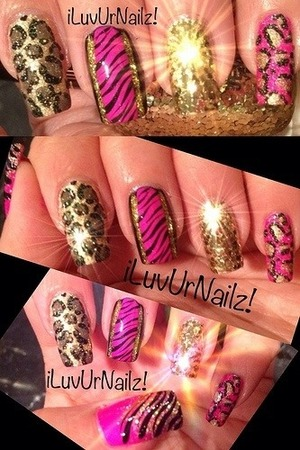 This is one of my most  favorite nail art designs