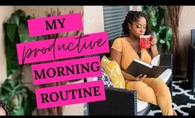 8 THINGS I DO BEFORE 8AM! How to make your mornings more productive