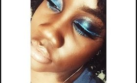 Blue Stardust Makeup Tutorial