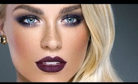 DARK GLAMOUR | Fall Makeup Tutorial