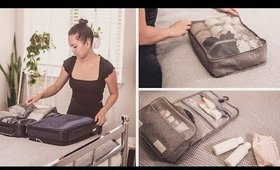 PACK with ME - My STEP by STEPS to Minimal Packing Tips for a WEEKEND TRIP | ANN LE