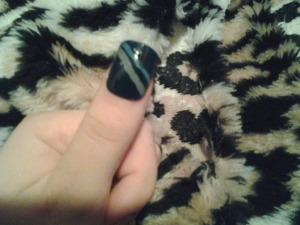 cute blue nails! comment plz