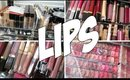 MY LIPSTICK & LIP GLOSS COLLECTION