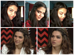 she is the most successful bolywood actress this year hitting hatrick super hits ! her recent movie CHENNAI EXPRESS  broke all the past records!  she looks extremely gorg here! with winged eyeliner wavy hair seminude lips! and those lovely dimples <3