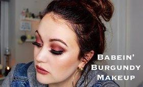 Babein' Burgundy Makeup Tutorial | Liv H