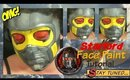 Guardians of the Galaxy: Starlord Helmet Face Paint Tutorial (NoBlandMakeup)