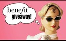 BENEFIT COSMETICS GIVE AWAY!