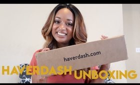 Haverdash Box #2 | Unboxing & Try On