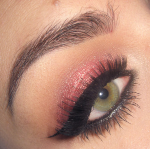 Here is the tutorial for this look : http://www.youtube.com/watch?v=0KXhtr4Q_7k