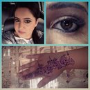 Eyes and mendhi