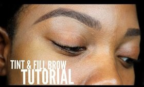 Brow Tutorial: How To Tint & Fill in Sparse Brows