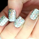 My Sparkliest Nails Ever - And I Don't Use That Term Lightly