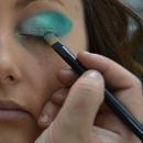 Rhapsody of the Gods production: eye makeup