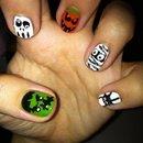 Halloween hand 2