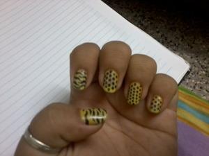 wanted to do cheetah! instead did polka :))))