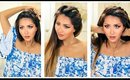 ★ 3 💗 EASY EVERYDAY HEADBAND BRAID HAIRSTYLES 💗  QUICK BRAIDS & UPDO for Long 💗 Medium HAIR