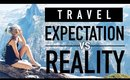 Travel Expectations vs. Reality ♥ A Lazy Girls Travel Diary ♥ Wengie