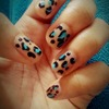 Leopard nails ~