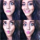 Bold brows & loud lips