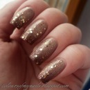 Nude/Brown Gradient Nails