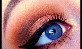 Warm Summer makeup tutorial using Makeup Geek