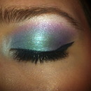 Aquamarine Makeup