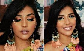 Maquiagem para Carnaval Usando glitter