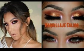 Maquillaje Calido Neutral / Warm Fall Makeup tutorial | auroramakeup