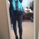 Cozy winter leggings