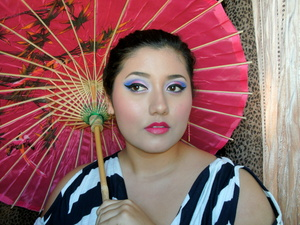 Mulan inspired makeup